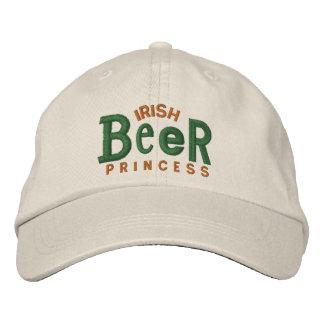 Gorra irlandés del bordado del chica de la cerveza gorra de beisbol bordada