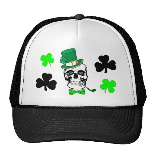 Gorra irlandés del cráneo