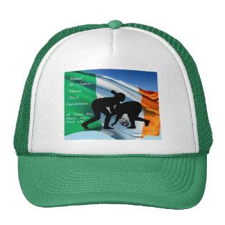 Gorra irlandés del rugbi de las mujeres