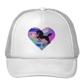 Gorra irresistible del arte del unicornio de