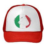 Gorra italiano del camionero del estilo #1/Red del