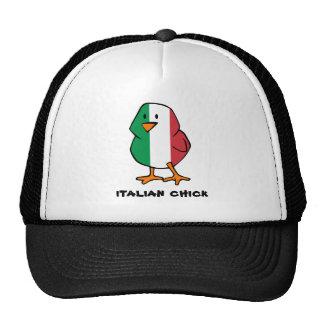 Gorra italiano del polluelo