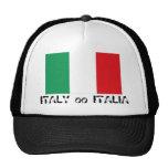 Gorra italiano del recuerdo de la bandera de Itali
