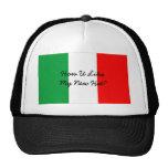Gorra italiano divertido