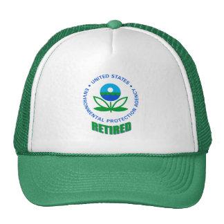 Gorra jubilado Agencia de Protección Ambiental