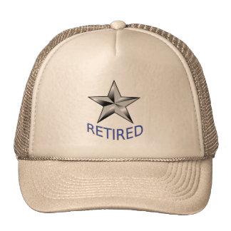 Gorra jubilado contralmirante del guardacostas