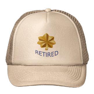 Gorra jubilado teniente comandante del guardacosta