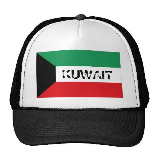 Gorra kuwaití del recuerdo de la bandera de Kuwait