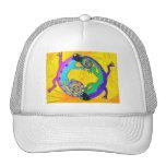 Gorra - lagartos tropicales maravillosos del casqu