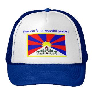 ¡Gorra - libertad para una gente pacífica! Gorras