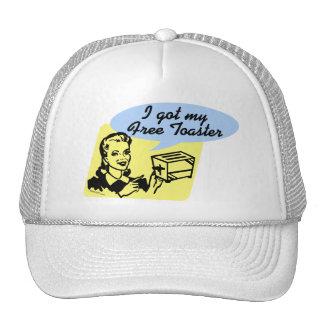 Gorra libre de la tostadora