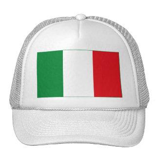 Gorra (ligero) de la bandera de Italia