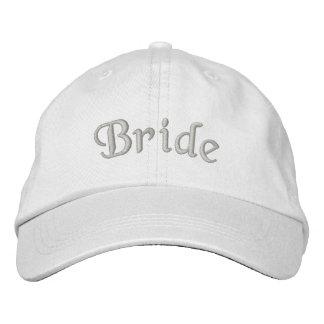 Gorra lindo bordado novia del boda gorra bordada