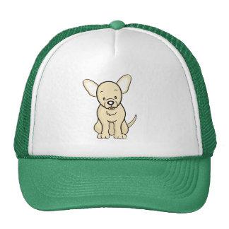 Gorra lindo de la chihuahua del perro del dibujo a