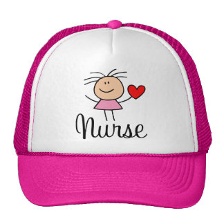 Gorra lindo de la enfermera