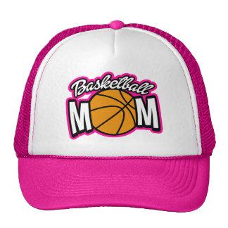Gorra lindo de la mamá del baloncesto