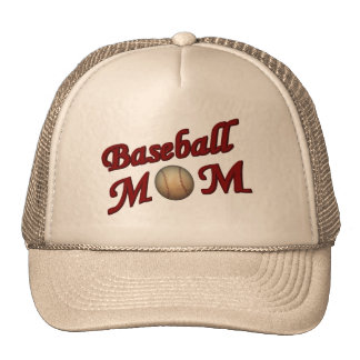 Gorra lindo de la mamá del béisbol
