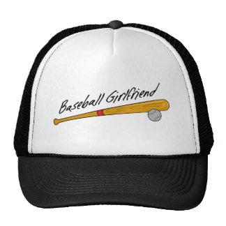 Gorra lindo de la novia del béisbol