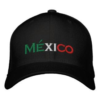 Gorra: Lindo de México, tricolor Gorras Bordadas