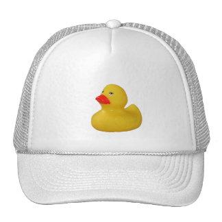 Gorra lindo del amarillo de la diversión del pato