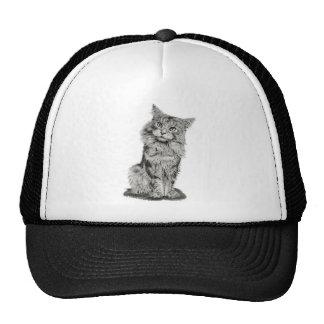 Gorra lindo del arte del gato
