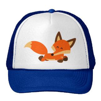Gorra lindo del Fox del dibujo animado de la flota