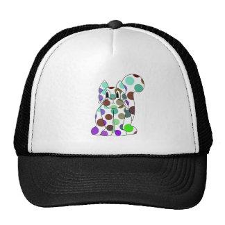 Gorra lindo del gato del gatito del lunar