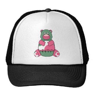 Gorra lindo del oso del cumpleaños del lunar