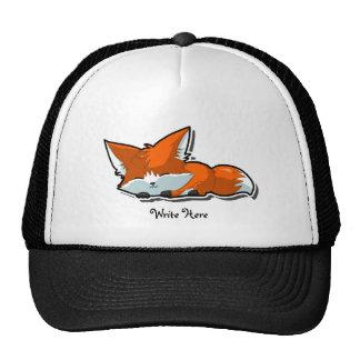Gorra lindo del personalizado del Fox el dormir