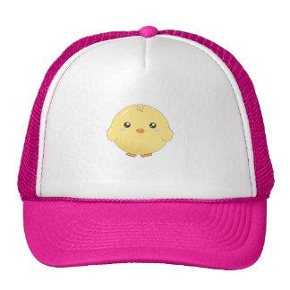 Gorra lindo del polluelo del amarillo del kawaii