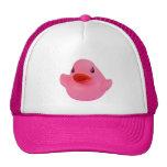 Gorra lindo del rosa de la diversión del pato de g