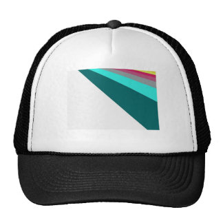 Gorra linear del arco iris