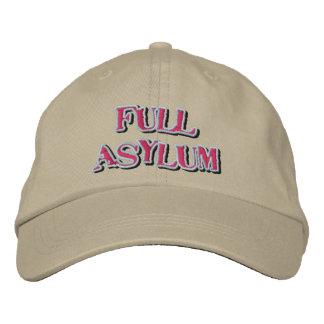 Gorra lleno del asilo gorras de béisbol bordadas