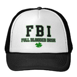 Gorra lleno irlandés del irlandés del FBI Blooded