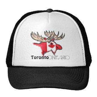 Gorra local de los alces de la bandera de Toronto
