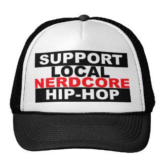 Gorra local del hip-hop de Nerdcore de la ayuda