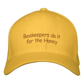 Gorra - los apicultores lo hacen para la miel gorra bordada