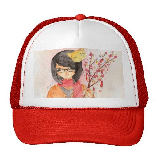 Gorra lunar del Año Nuevo
