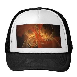 Gorra mágico del arte abstracto de la mañana