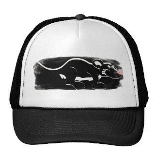 Gorra malvado del camionero de la mofeta