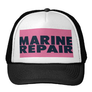 Gorra marino del camionero de la reparación