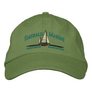 gorra marino esmeralda gorros bordados