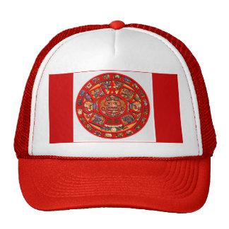 Gorra maya del calendario