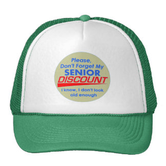 Gorra mayor del descuento