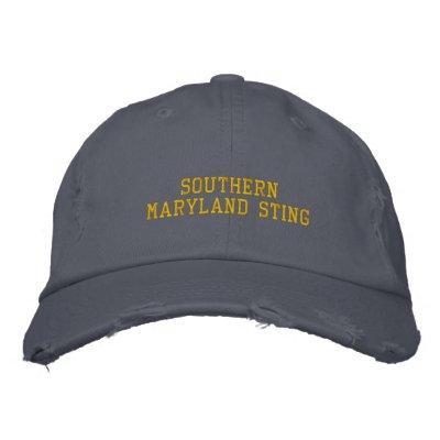 Gorra meridional de Maryland Sting Gorra De Beisbol