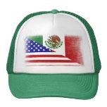 Gorra mexicano-americano del camionero de la