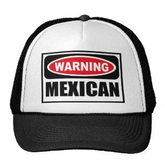 Gorra MEXICANO amonestador