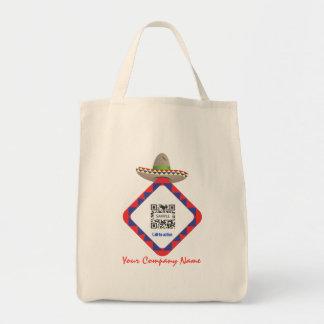 Gorra mexicano de la plantilla del bolso bolsa de mano