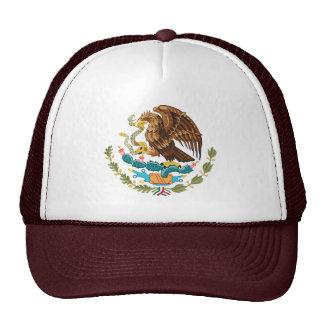 Gorra mexicano del escudo de armas