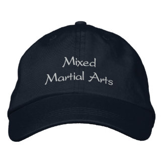 Gorra mezclado de los artes marciales gorras de beisbol bordadas